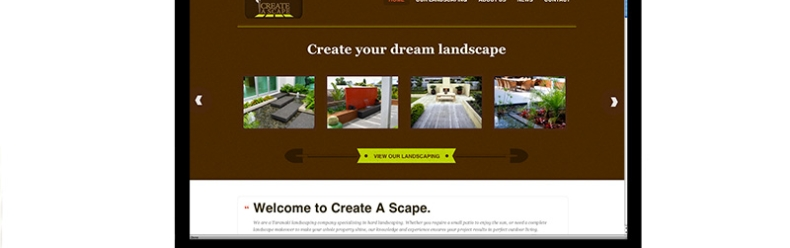Create A Scape website