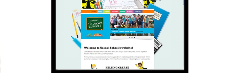 New website for Urenui School