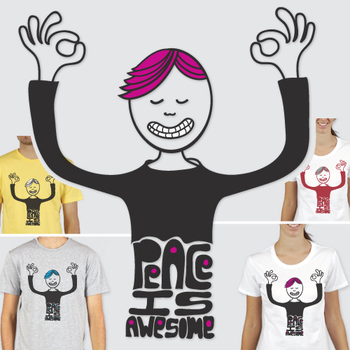 peaceisawesome Tshirt design
