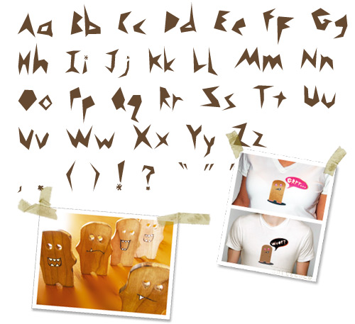 Monsta-font-alphabet