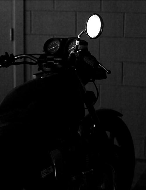 photograph motorbike suzuki gs850g