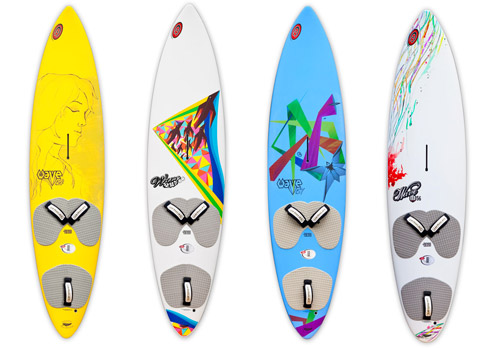 surfboard graphic design illustrations