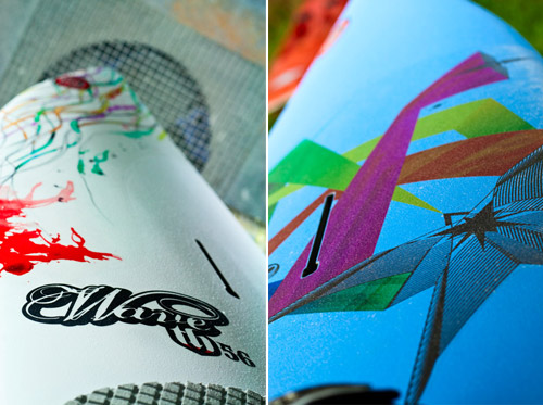 surfboard design illustrations