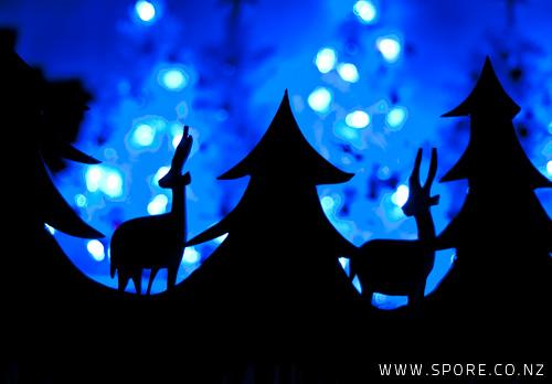 santa reindeer christmas