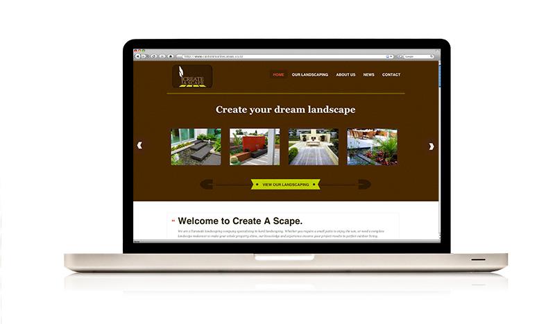 Create A Scape website