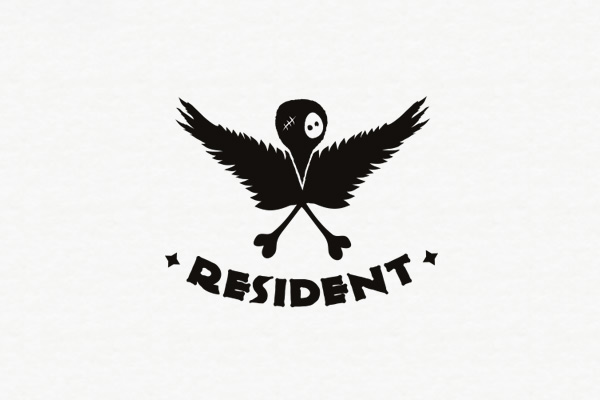 resident clothing logo