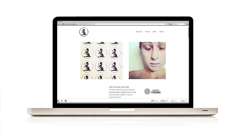 Tailor Skincare Website